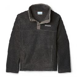 Columbia Youth Steens Mtn1/4 Snap Fleece Pull-Over Charcoal Heather