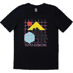 Topo Designs Geo Tee Black