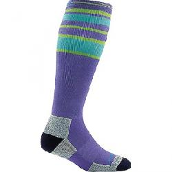 Darn Tough Women's Trail Legs Over The Calf Cushion with Co Purple