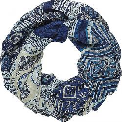 Sherpa Kira Infinity Scarf Rathee Blue