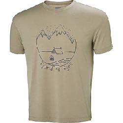 Helly Hansen Men's Skog Graphic T-Shirt ALUMINUM