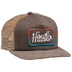 Howler Bros Howler Classic Snapback Hat Charcoal / Red / Blue