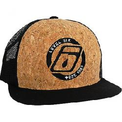 Level Six Corky Mesh Back Trucker Cap Black