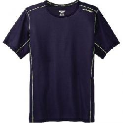 Brooks Men's Ghost SS Top Navy/Nightlife