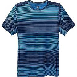 Brooks Men's Ghost SS Top Azul Haze