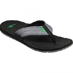 Sanuk Men's Land Shark Sandal Charcoal / Grey