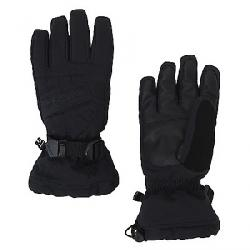Spyder Boys' Overweb Ski Glove Black / Black
