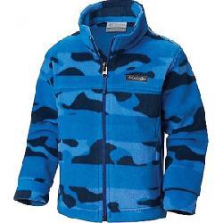 Columbia Toddler Boys' Zing III Fleece Jacket Super Blue Camo Stripe