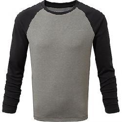 Craghoppers Kid's NosiLife Barnaby LS T-Shirt Soft Grey Marl