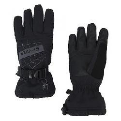 Spyder Boys' Overweb Ski Glove Black / Polar