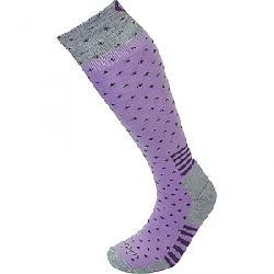 Lorpen Women's T2 Classic Merino Ski Midweight Sock Pink/Grey