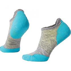 Smartwool Women's PhD Run Light Elite Micro Sock Light Gray/Light Capri