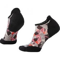 Smartwool Women's PhD Run Light Elite Print Micro Sock Medium Gray