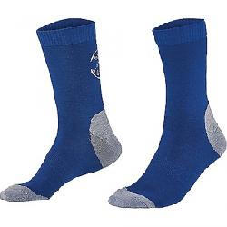 Mons Royale Women's Tech Bike Surf Sock Bright Blue / Grey