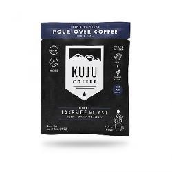 Kuju Coffee Pocket PourOver Decaf Coffee - 10 Pack Lakeside Roast