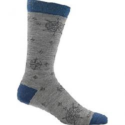 Darn Tough Men's Compass Crew Sock Grey