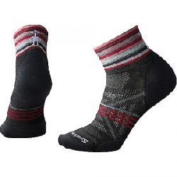 Smartwool Women's PhD Outdoor Ultra Light Pattern Mini Sock Charcoal