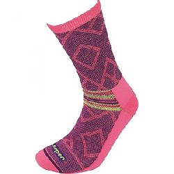 Lorpen Women's T2 Lifestyle Diamond Sock Plum