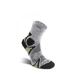 Bridgedale Men's Cool Fusion Trailhead Sock Black / Green