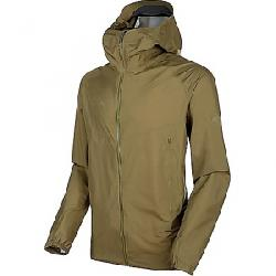 Mammut Men's Masao Light Hardshell Hooded Jacket Olive