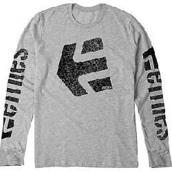 Etnies Men's Hype LS Tee Heather Grey