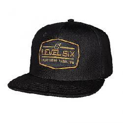 Level Six Badge Cap Black