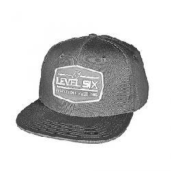 Level Six Badge Cap Light Grey Chambray