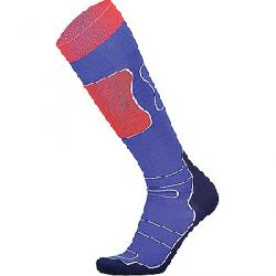 Mons Royale Men's Pro Lite Tech Sock Navy / Grey / Bright Red