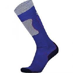 Mons Royale Women's Pro Lite Tech Sock Electric Blue / Navy / Grey Marl