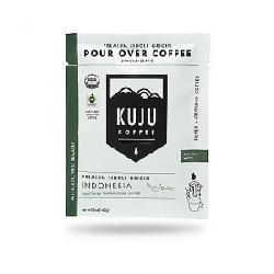 Kuju Coffee Pocket PourOver Coffee - 10 Pack Single-Origin - Indonesia
