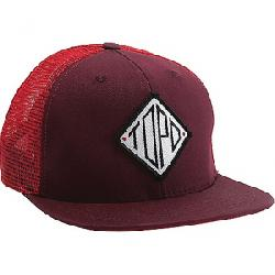 Topo Designs Diamond Snapback Hat Burgundy / Red