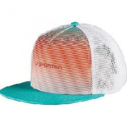 La Sportiva Fade Trucker Hat Aqua Lily Orange