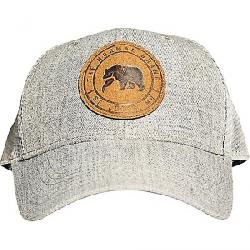 The Normal Brand Leather Patch Trucker Grey