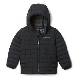 Columbia Boys' Powder Lite Boys Hooded Jacket Black