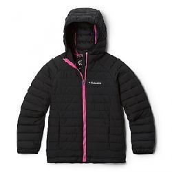 Columbia Toddler Girls' Powder Lite Hooded Jacket Black