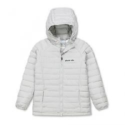 Columbia Toddler Girls' Powder Lite Hooded Jacket Silver Grey