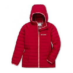Columbia Toddler Girls' Powder Lite Hooded Jacket Pomegranate