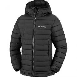 Columbia Toddler Boys' Powder Lite Boys Hooded Jacket Black