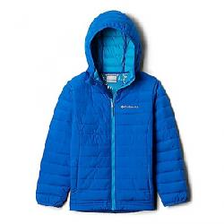 Columbia Toddler Boys' Powder Lite Boys Hooded Jacket Super Blue