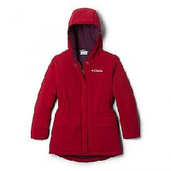 Columbia Girls' Outdoor Bound Stretch Jacket Pomegranate