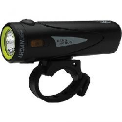 Light and Motion Urban 350 and Vis Micro Lights Obsidian Stout / Silver