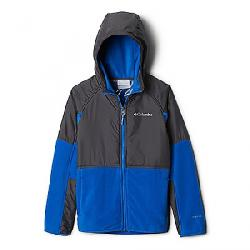 Columbia Youth Basin Butte Fleece Full Zip Jacket Super Blue/Grill