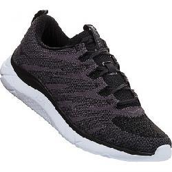 Hoka One One Men's Hupana Knit Jacquard Shoe Black / White