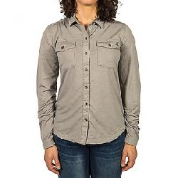 Gramicci Women's Traveler Convertible Shirt Heather Grey