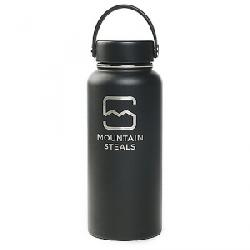 Mountain Steals 32oz Wide Mouth Insulated Bottle b Black