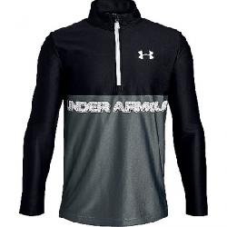 Under Armour Youth Tech 1/2 Zip Top Black / / White