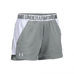 Under Armour Women's UA Play Up Short 2.0 True Gray Heather / White / White