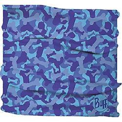 Buff Dog Reflective Insect Shield Neckwear Bone Camo Blue