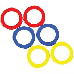 Magura 2 Piston Assorted Caliper Rings Neon Red / Neon Yellow / Blue