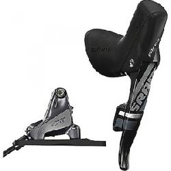 SRAM Force 22 Flat Mount Hydraulic Disc Brake with Rear Shifter Black